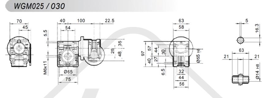 tabulka převodovka wgm030