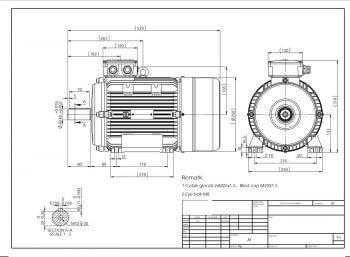 Elektromotor MS132M prevedenie B3