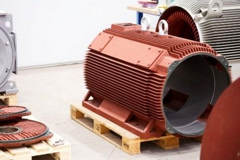 výroba elektromotora stator
